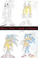What have I done to Sonic? by DeverexDrawer