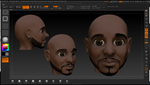 Zbrush Freestyle: Male Head Sculpt 01 by grico316