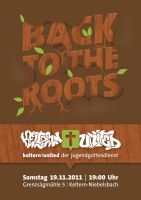 Back to the Roots - JuGo Flyer by Philipp-JC