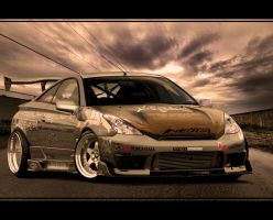 toyota celica street drift by ROOF01