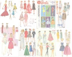 barbie wallpaper pattern1 by electricjesuscorpse