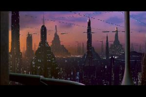 Coruscant Night Life by SithJammies