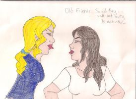 old friends by Bellawho1