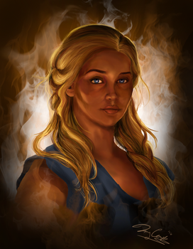 Mother of Dragons by SuperSibataru