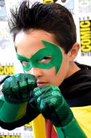 Jakey as Damian Wayne by FloresFabrications