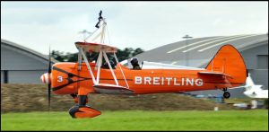 Wingwalker 3 takes off / FAS 2012 by Somebody-Somewhere