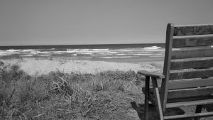 Beach Chair BW by manuelo-pro