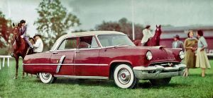 age of chrome and fins : 1953 Lincoln by Peterhoff3