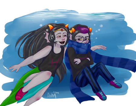 [homestuck] lil cuties by andszej