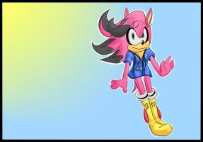 Tandi The Hedgehog :Redesign: by Proasha