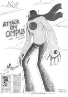 CR doodle : Attack on Ompus by AOBAN