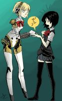 Aigis Snip Snip by theintrovert