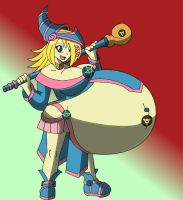 Maternal Dark Magician Girl_color by Calmingscene
