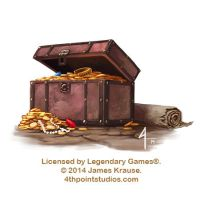 Pirate's Treasure Chest for Legendary Games by JamesJKrause