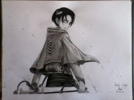 Rivaille Levi (SNK) by ZeRo-SaMa23