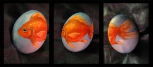 Fishy Egg by agent-elf