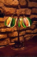 HotR : Stained Glass Lamp 05 by taeliac-stock