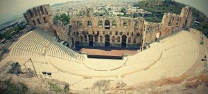 Odeon of Herodes Atticus by maremerald