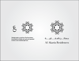 Al Akaria logo option 1 by Mahayni