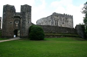Berry Pomeroy Castle 2 by GothicBohemianStock