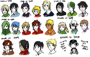 2004-2011 Select OCs by Jejunity