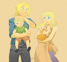 edwin family by Socij