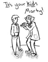 Marty and Doc by Sadiebeattie