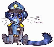 The Tiger General ::Chibi:: by KittyKathyKat