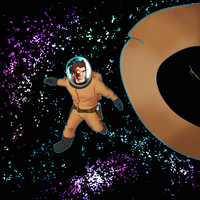 Jonah in space by hugeackman