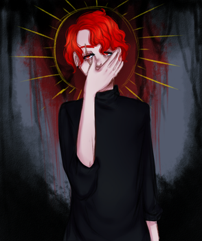 i can't drown my demons they know how to swim by Eviod