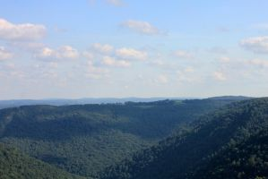 Mountains of Monongalia 02 by Thy-Darkest-Hour