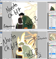 Naruto 617 Wip 1 Wip 2 by deathgenebunny