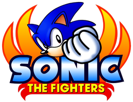 Sonic the Fighters logo by RingoStarr39