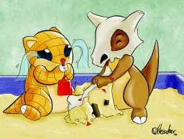 Bully Cubone by VibaFleischer