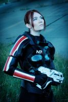 Commander Shepard 2 by Aladriel