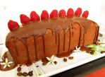 Vegan mocha cake and recipe by Talty