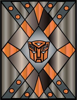 October Autobot Window by srg1