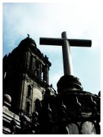 Mexico City Cathedral by zikex