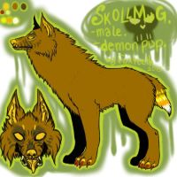 SKOLLMUG - character up for sale/trade by foxteeth