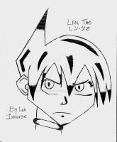 Shaman King: Len Tao Drawing by LenInverse