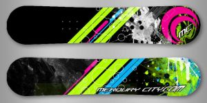 Merqury City SSX Blur Board by Royank