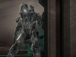 Halo 4: The Titan by purpledragon104