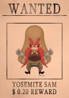 Yosemite Sam -speed drawing by IDROIDMONKEY