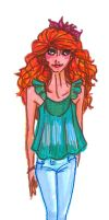 red hair by mox-ie