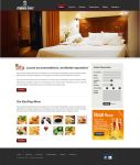 Hotel Website Mockup by ruakbar