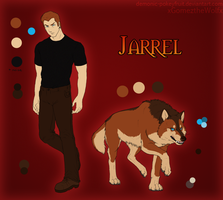 Jarrel Ref by Demonic-Pokeyfruit