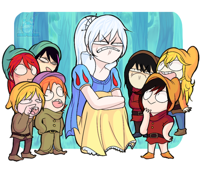 Snow white and the seven dwarves by Wowza-Wowzers