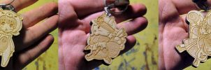LoL Wooden Charms by Hojin-tron