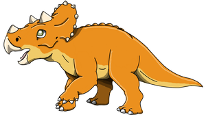 The Land Before Time: Cera by Alien-Psychopath