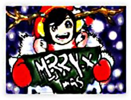 merry christmas happy holidays by ryryespi